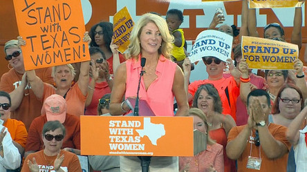 High Beam Stand with Texas Women Wendy Davis.jpg