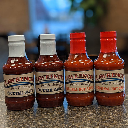 4-Pack of Bottled Sauce - Hot or Cocktail