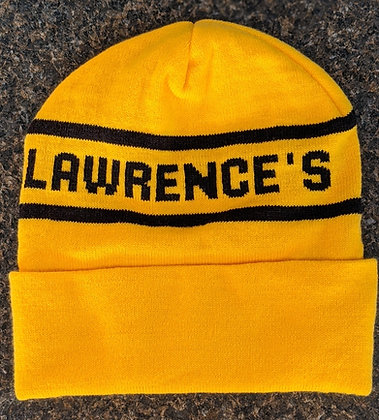 Winter Hat - Yellow/Black