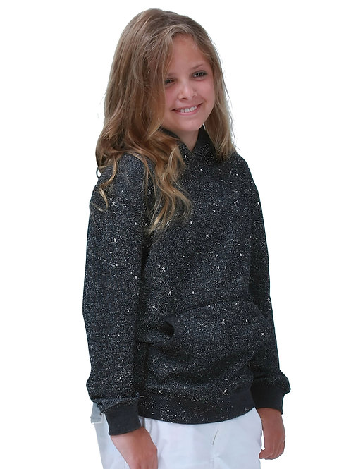 Glitter French Terry Hood