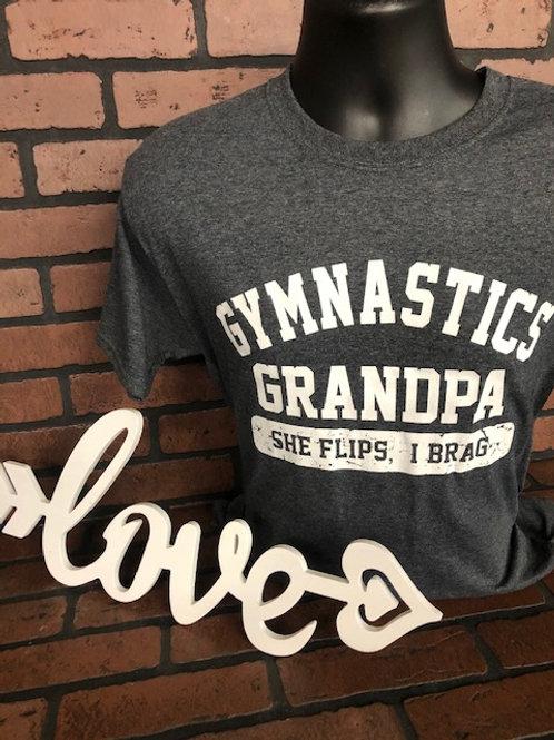 Gymnastics Grandpa