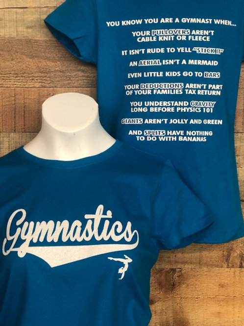 Know When You're A Gymnast