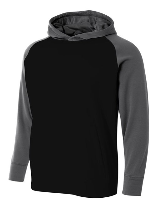 Color Block Tech Fleece Hoodie