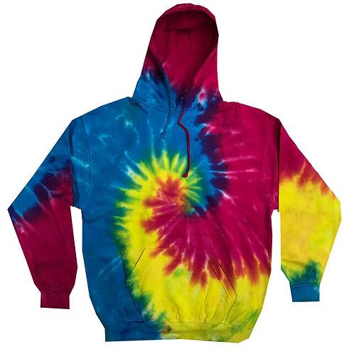 Tie-Dye Fleece Hoodie