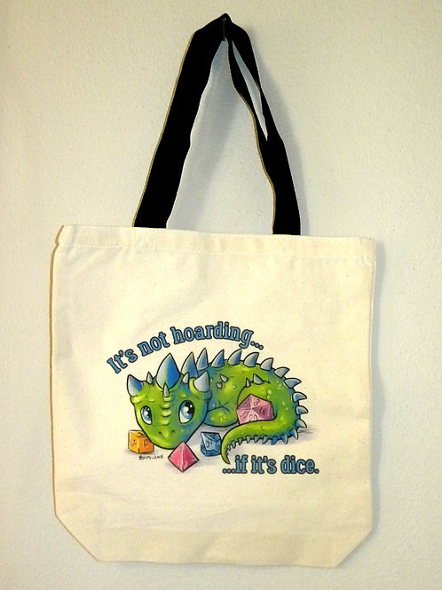 HOARDING DRAGON TOTE BAG