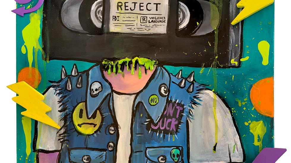 VHS HEAD ART