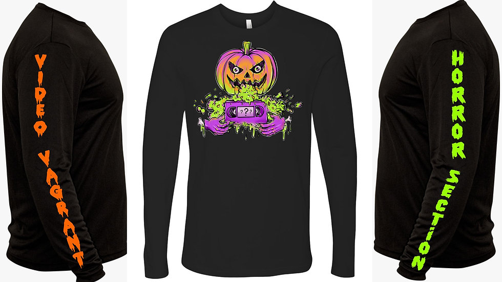 VIDEO VAGRANT HALLOWEEN LONG SLEEVE