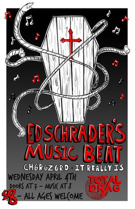 Ed Schrader's Music Beat Gig Poster