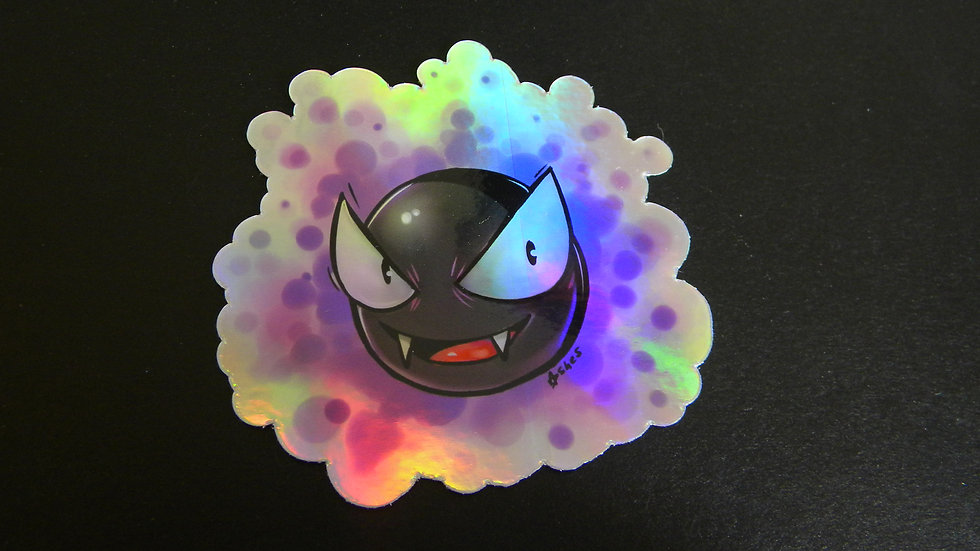 GHASTLY HOLOGRAPHIC STICKER