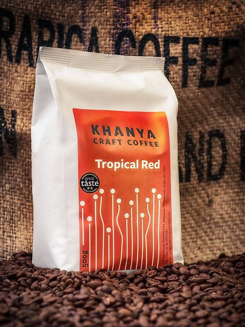 Tropical Red Espresso Beans  El Salvador