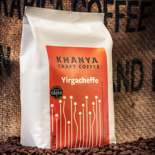 Yirgacheffe Espresso Bean Ethiopian Single Origin Roast