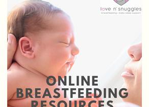 Online Breastfeeding Resources