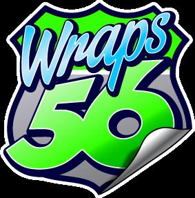 Wraps 56 logo