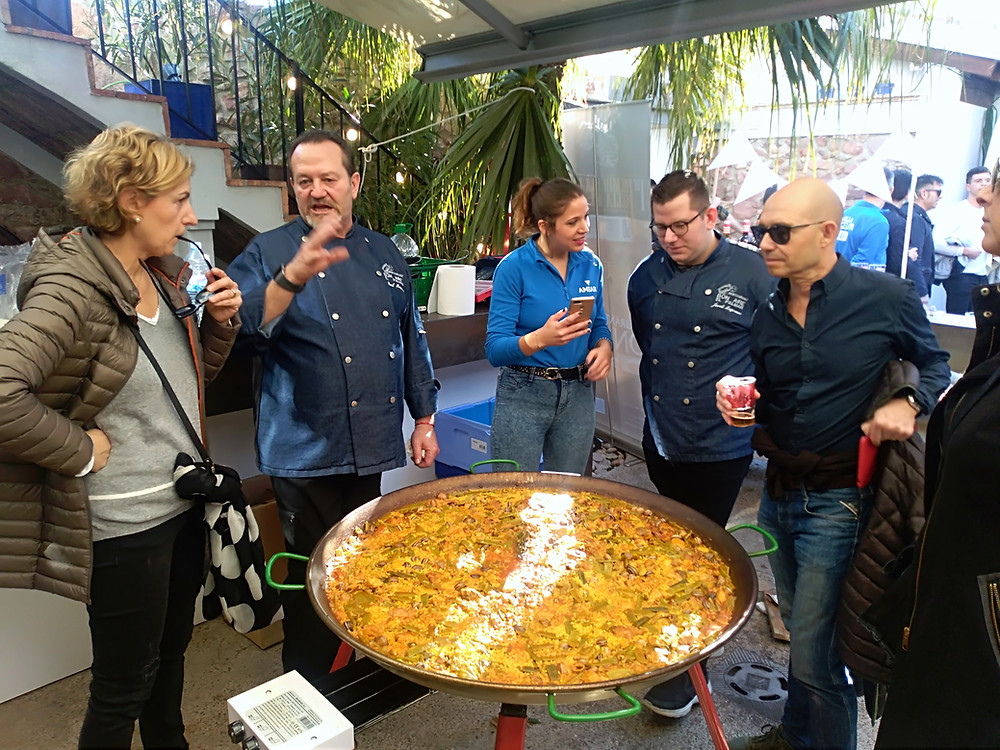 best paella cooking show and lunch in valencia