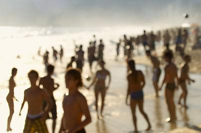 Silhouettes sur Ipanema
