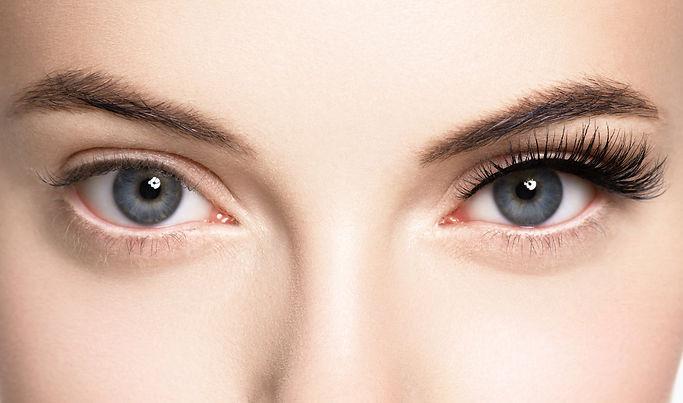 Lashes extension before after, eyelash, beautiful woman eyescloseup.jpg