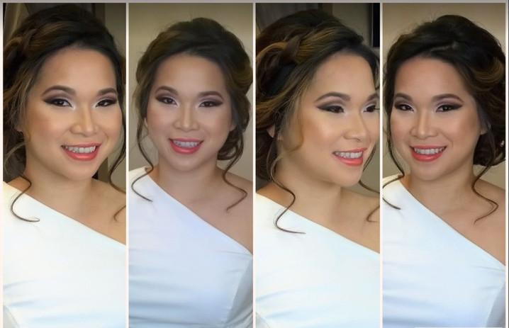 Bridal Makeup Appplication