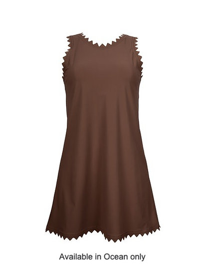 Karla Colletto Ines Round Neck Dress 372-C15