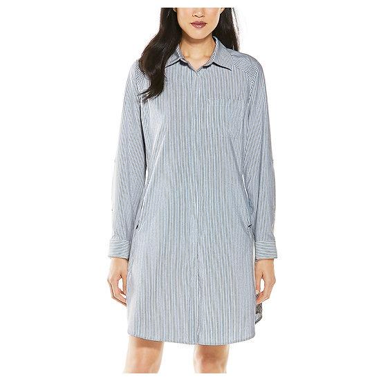 COOLIBAR Malta Travel Shirt Dress 10364