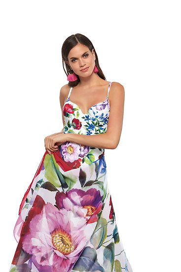 SALE- Roidal Floral Matching Sarong 700/1/20