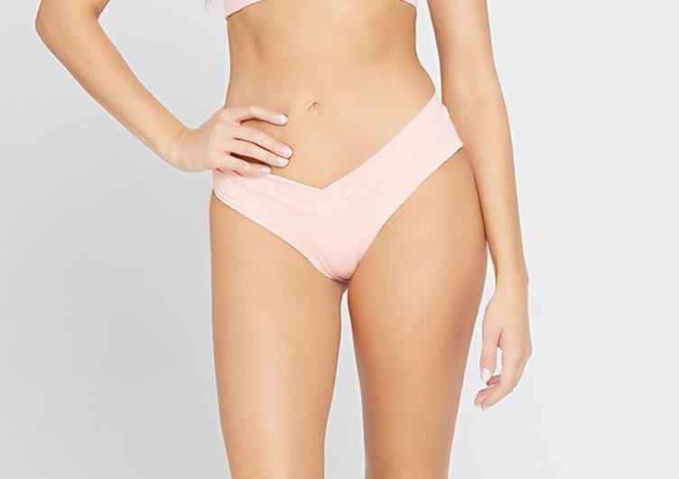 L*SPACE Pratt Mellowed Rose Bikini Bottom LSPTC21
