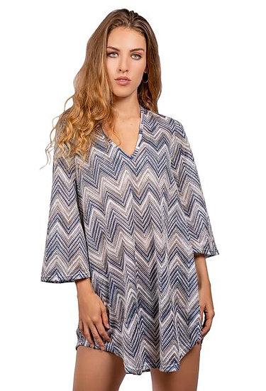 Elif for Jordan Taylor Bell Sleeve Tunic SKY14028