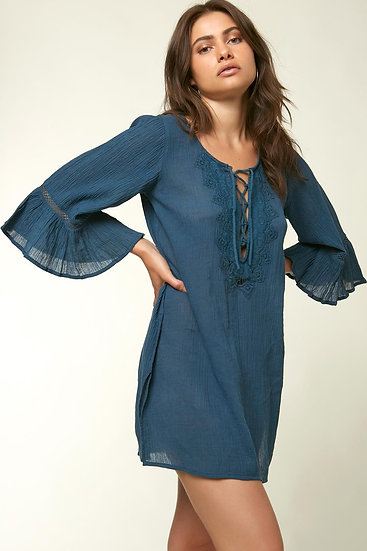 SALE - O'Neill Saltwater Solids Long Sleeve Cover Up - SP9416027