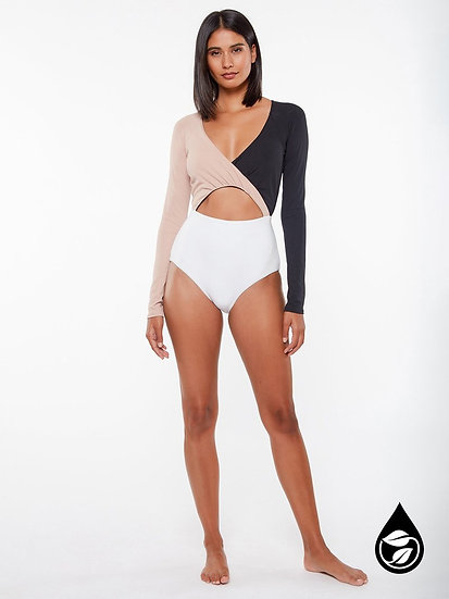 Sanctuary Long Sleeve Bodysuit One Piece SABP21219 (pictured for body only)