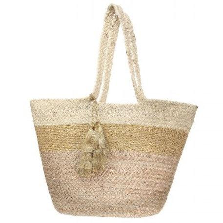 ASHIANA - Rio Metallic Beach Bag - AHI06039
