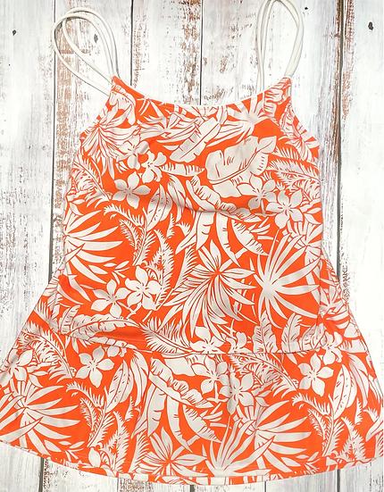 SEA WAVES - Skirtini Set - Tangerine Jungle 53547