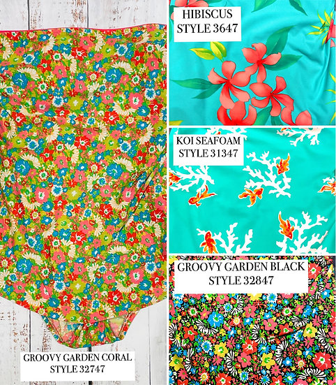 SEA WAVES - Bandeau Sarong - STYLE 3000