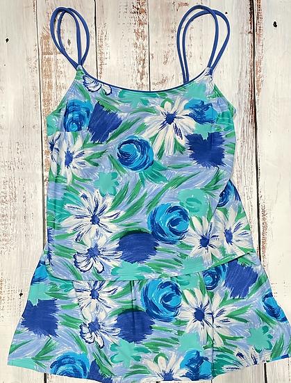 SEA WAVES - Skirtini Set - Monet Flowers 54847