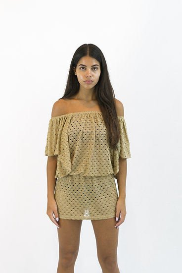 SALE Elif by Jordan Taylor Off Shoulder Dress PY920