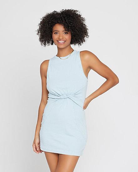 L*SPACE Seaview Mini Dress Sky Blue SEADR21