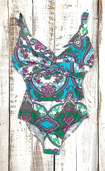KUNY Underwire Twist Front Maillot 20002113