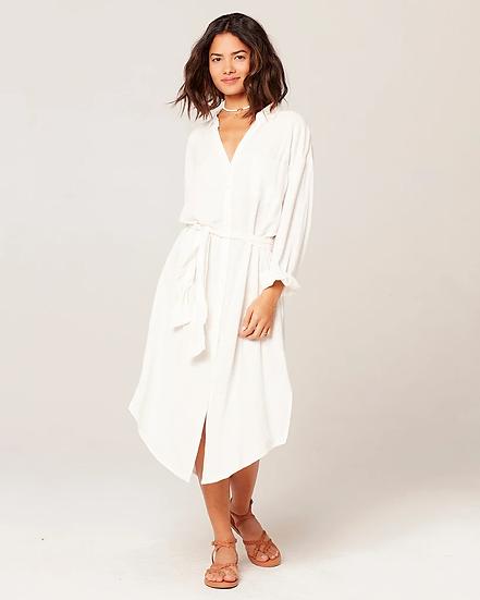 L*SPACE - Cream Barcelona Dress - BARDR20