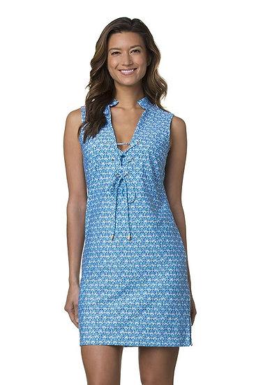HELEN JON - Elba Island Short Chelsea Lace-Up Dress - HJ230772
