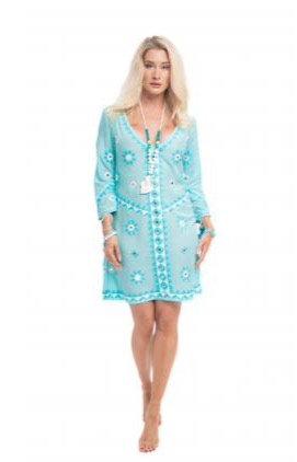 Pranella Aribella Dress Aqua ARIBELLA