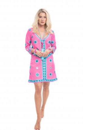 Pranella Aribella Dress Neon Pink ARIBELLA