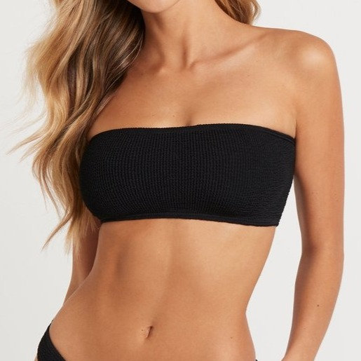 BOUND - Black Sierra Bandeau Top - BOUND039