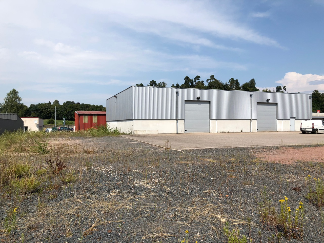 Extension d'un bâtiment industriel à Baccarat