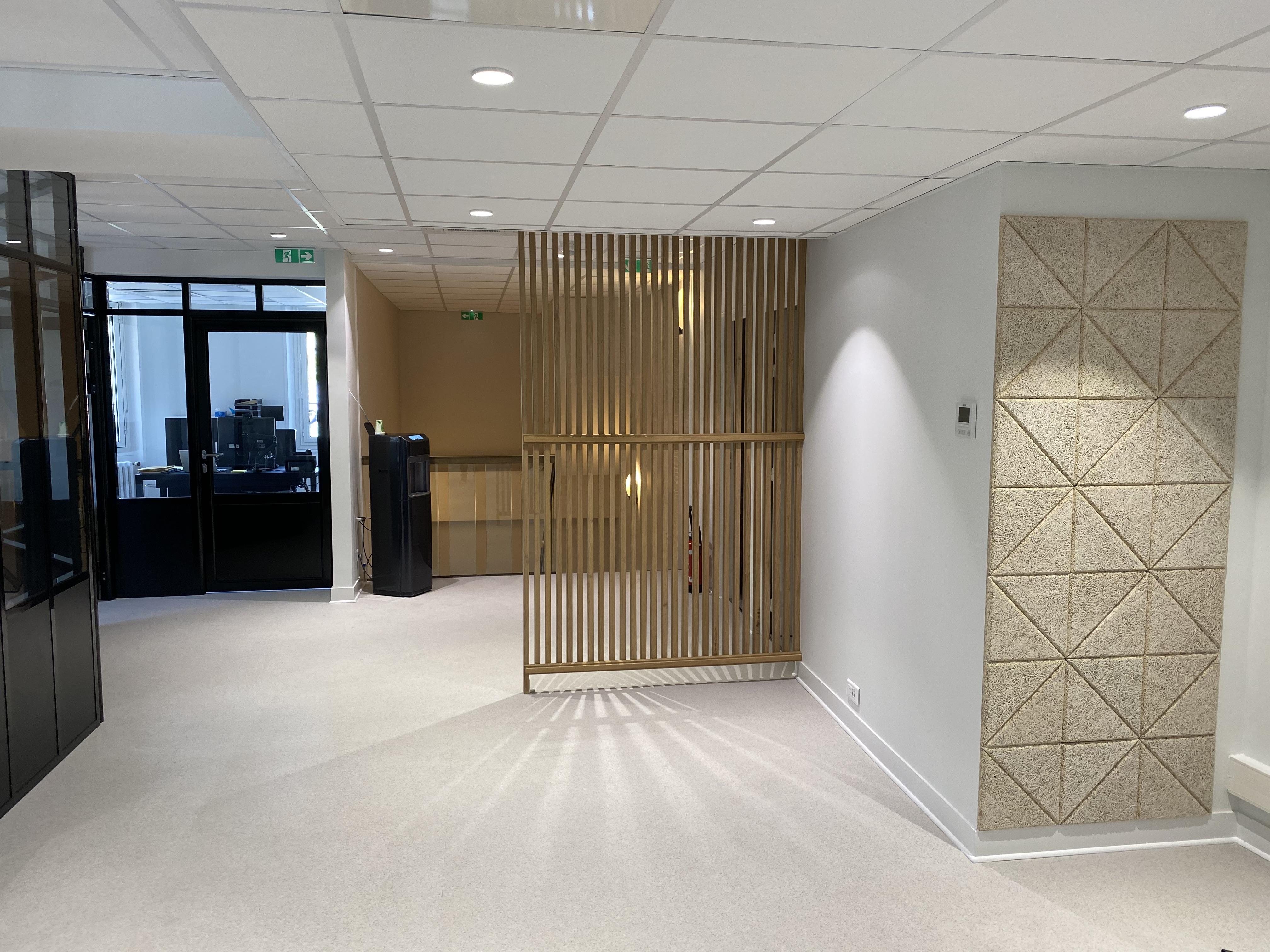 Réaménagement d'une agence bancaire à Troyes