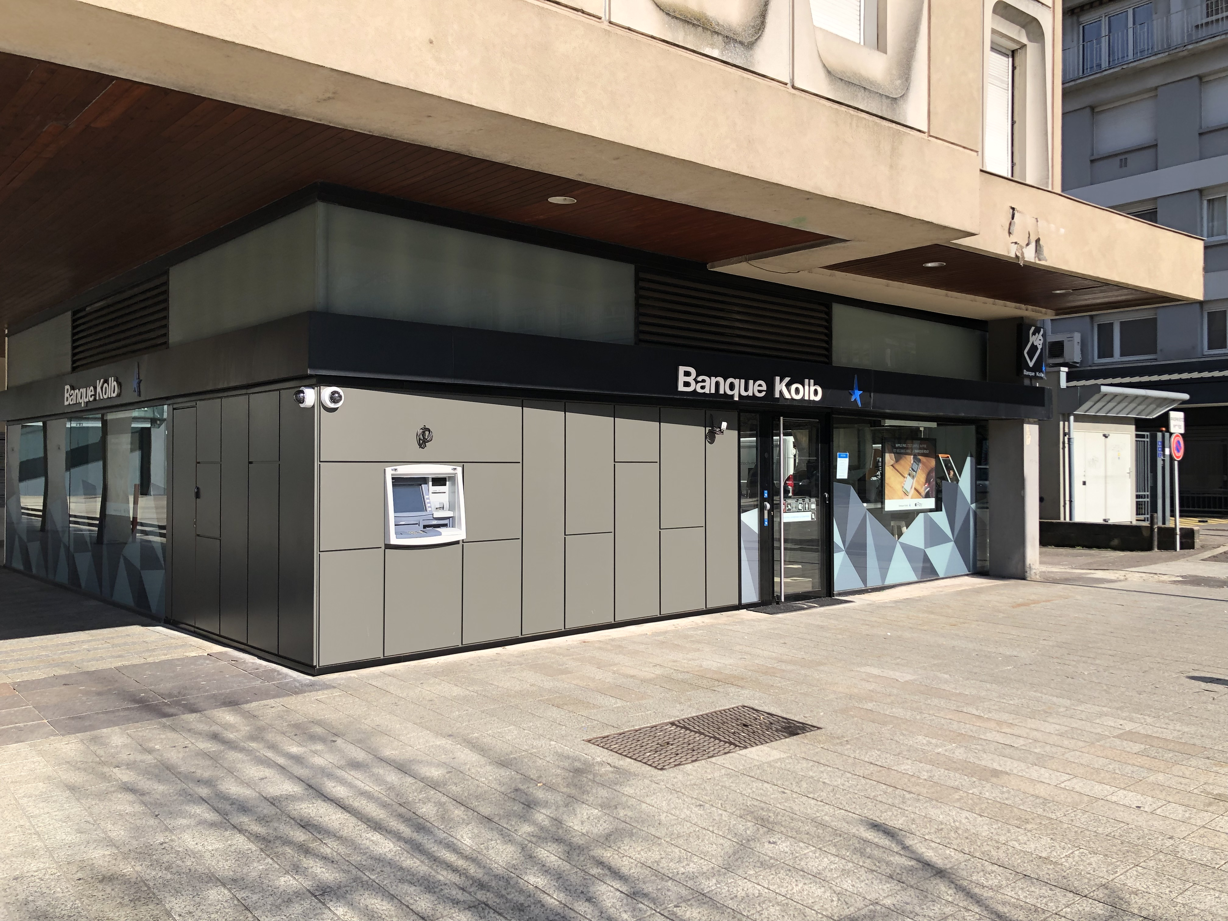 Réaménagement d'une agence bancaire
