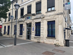 Réaménagement d'une agence bancaire à St Dizier