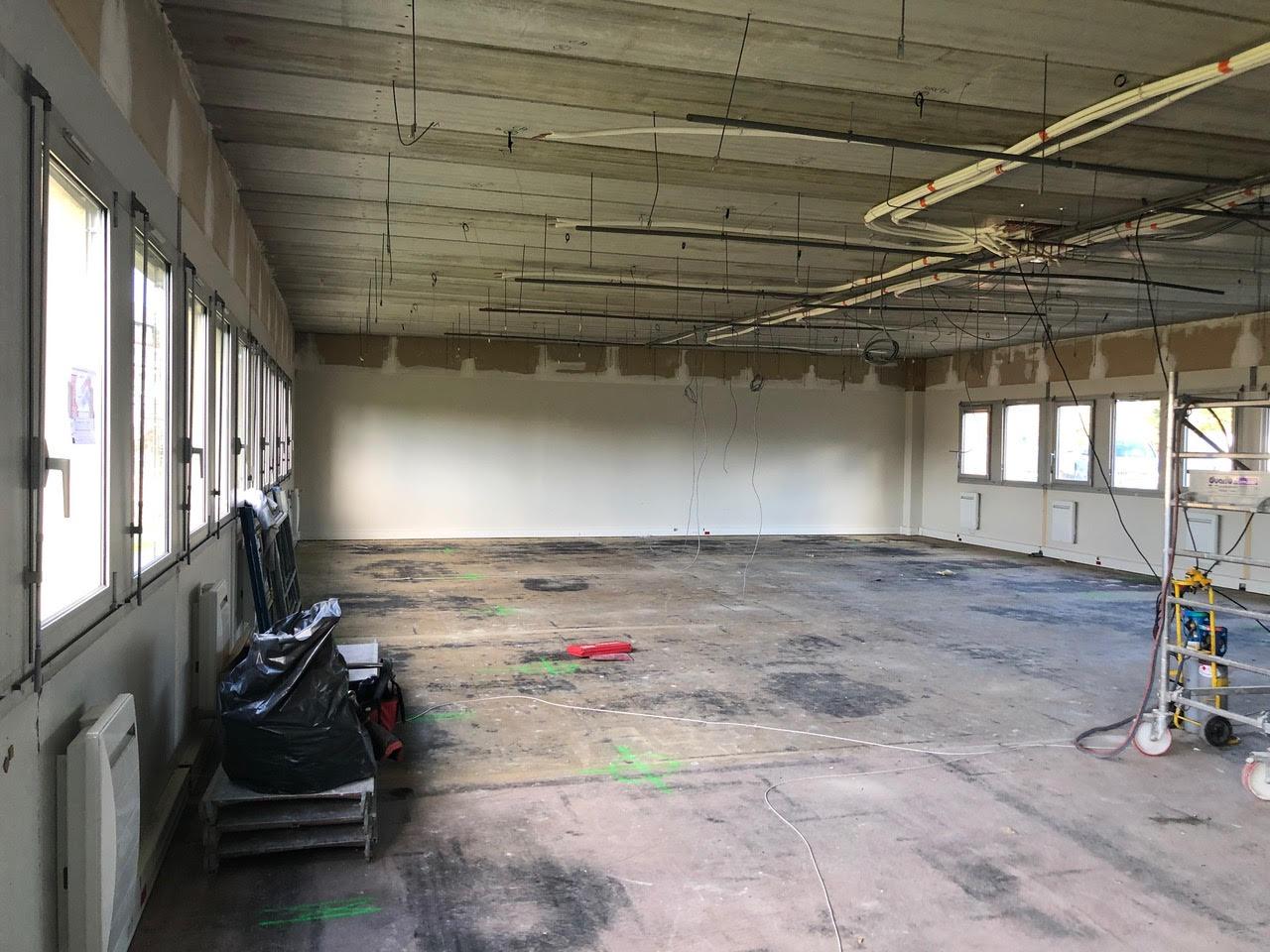 Aménagement d'un plateau de 600 m² de bureaux à Brabois