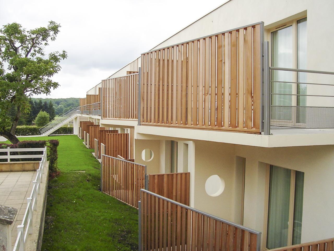 Extension d'un hôtel à Vittel