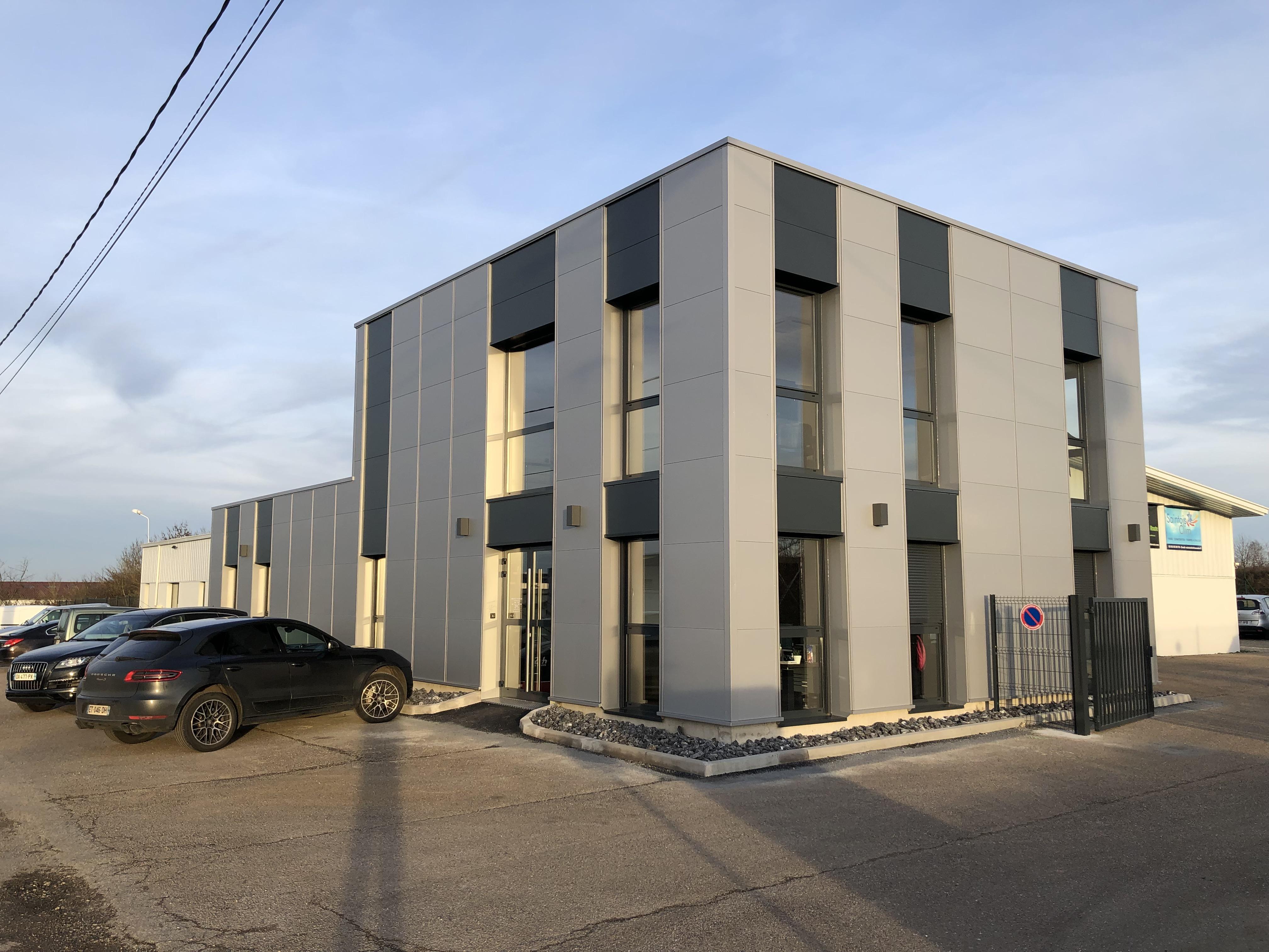 Création d'un bâtiment de bureaux