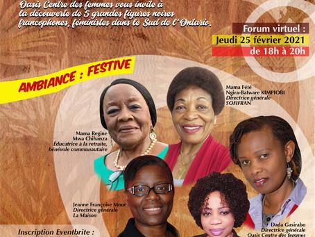 Venez découvrir 5 grandes figures féministes !