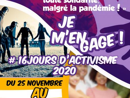 16 jours d'activisme