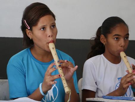 Escolas de música no sertão: ensino que muda vidas